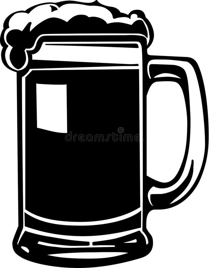 Download Beer Mug Illustration stock vector. Image of object, line - 20141147