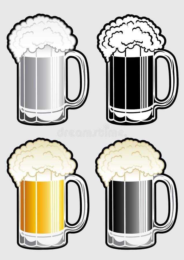 Download Beer Mug Illustration stock vector. Image of bavaria - 27904108