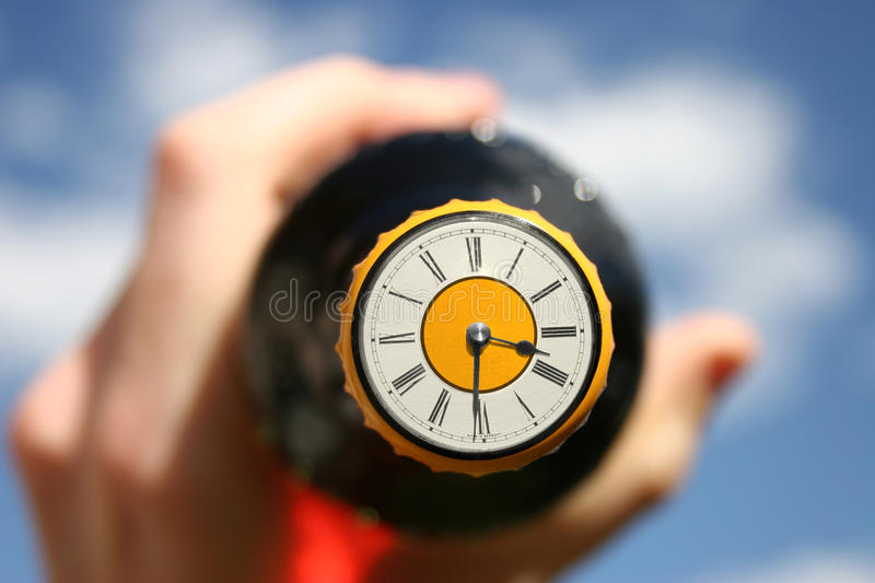 Download Beer O'Clock stock photo. Image of bitter, cold, gold - 14343164