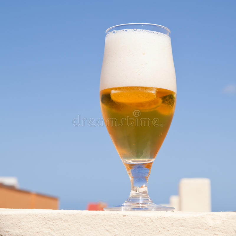 Beer Outdoors Stock Photography