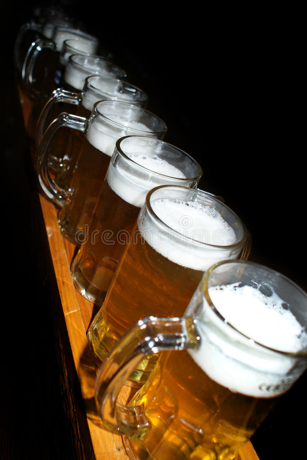 Download Beer pints stock photo. Image of close, frosty, bleb - 39507362