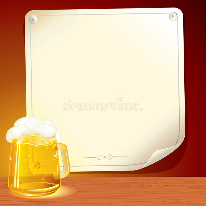 Download Beer Poster stock vector. Image of colorful, decoration - 18708103
