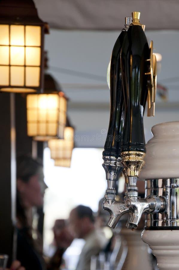 Beer pump stock photos