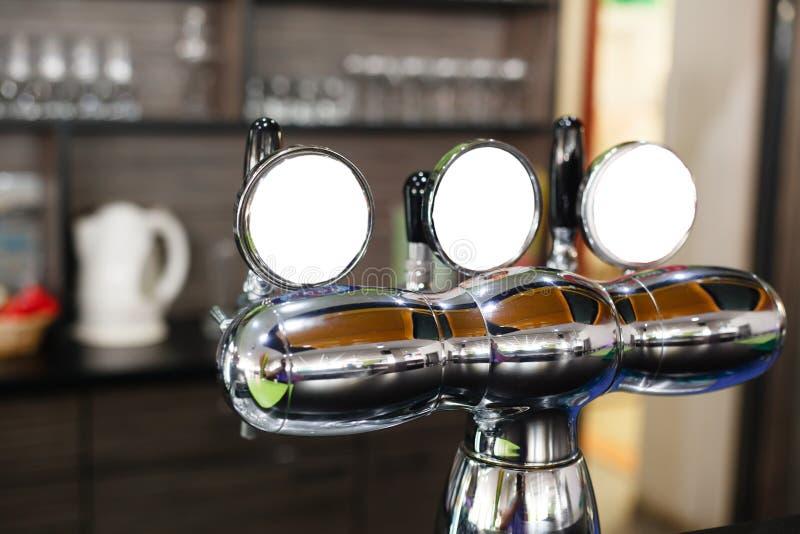 Beer pump. stock image