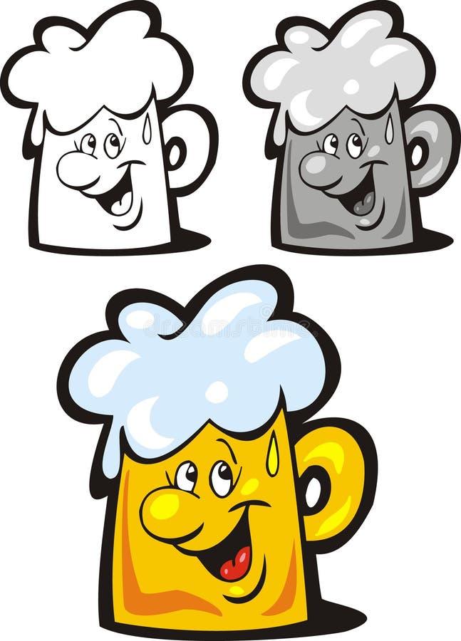 Drunk Mug Of Beer Cartoon Vector Clipart Stock Vector - Illustration of illustrator ...