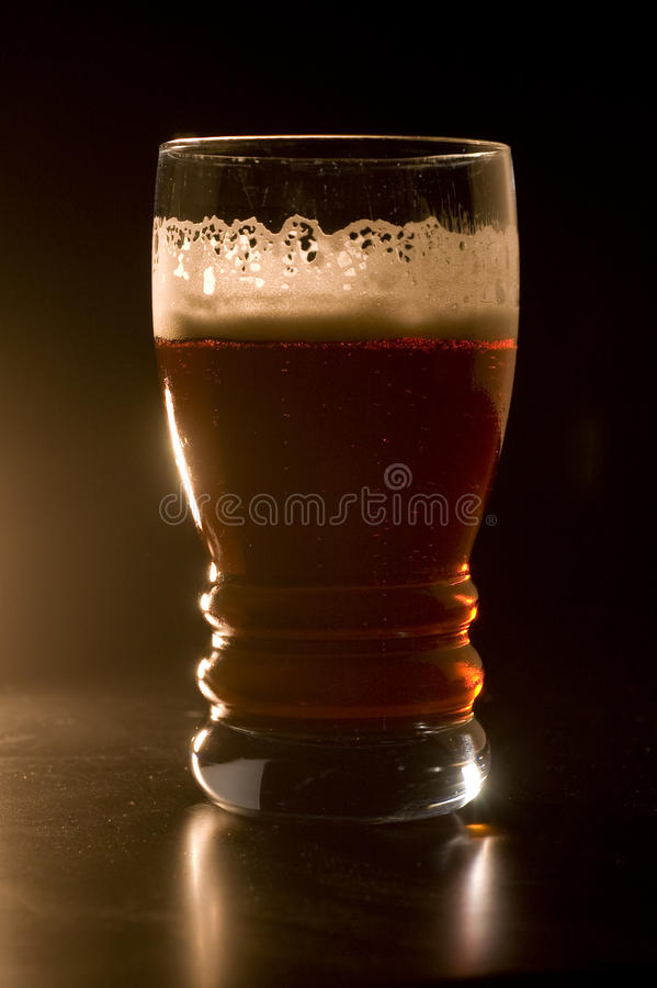 Download Beer in a Smokey Bar stock photo. Image of reflection - 21125810