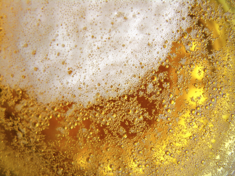 Beer Texture. Close up