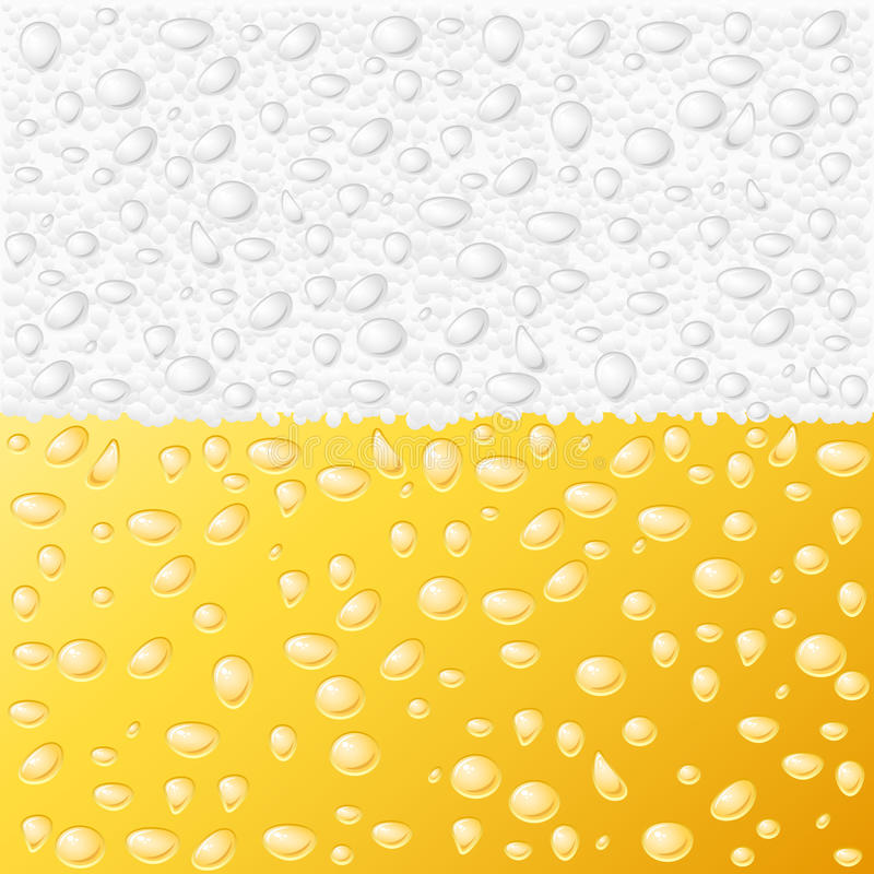 Beer texture. Dewy drink beer texture background royalty free illustration