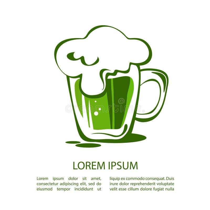 Beer-12 vert illustration stock