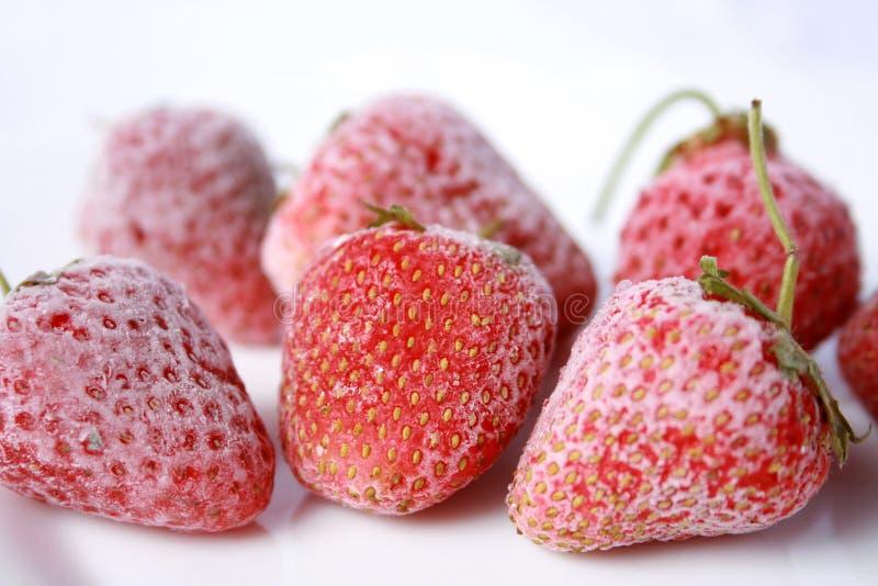 Beeren der Erdbeere lizenzfreies stockbild