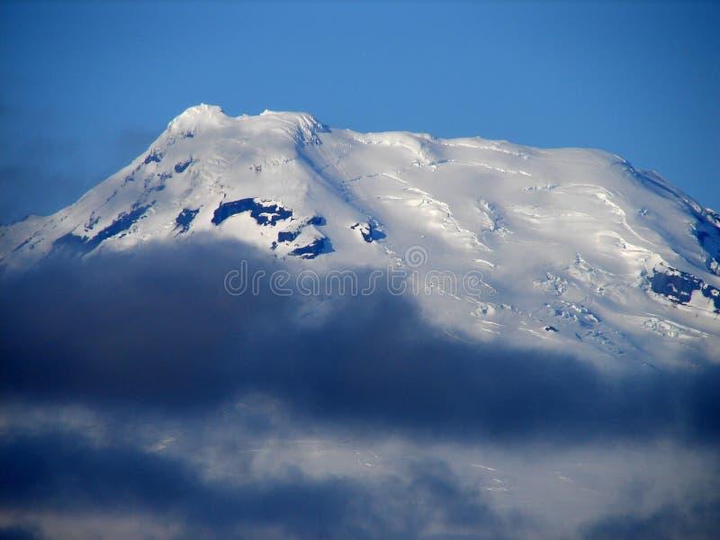 Beerenberg vulkan på den Jan Mayen ön royaltyfri bild