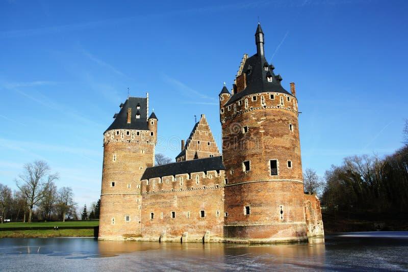 Beerselkasteel (België) royalty-vrije stock foto's