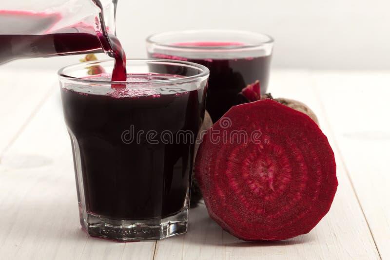 Beet juice stock photo