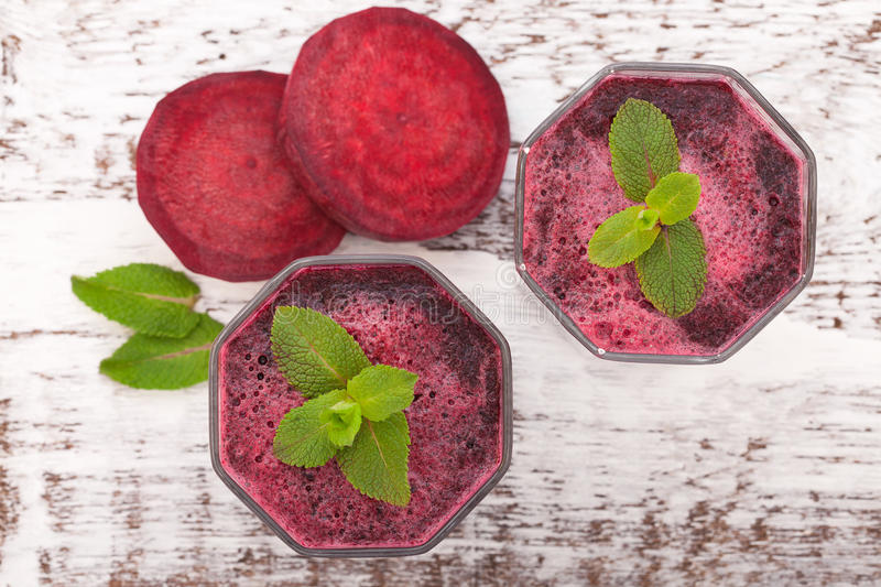 Beet Juices and vegetables stock photos