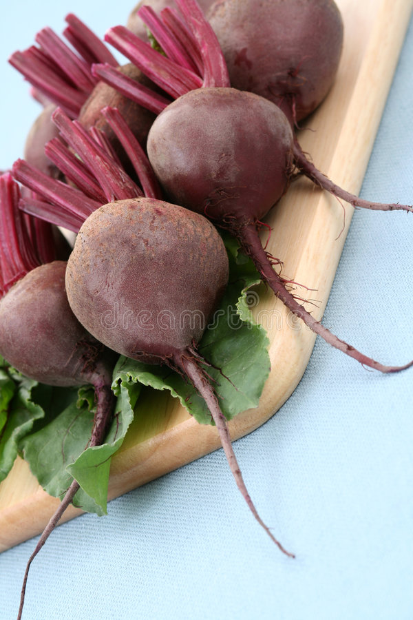 Beet roots. Some fresh and raw beet roots - ready to cook stock images