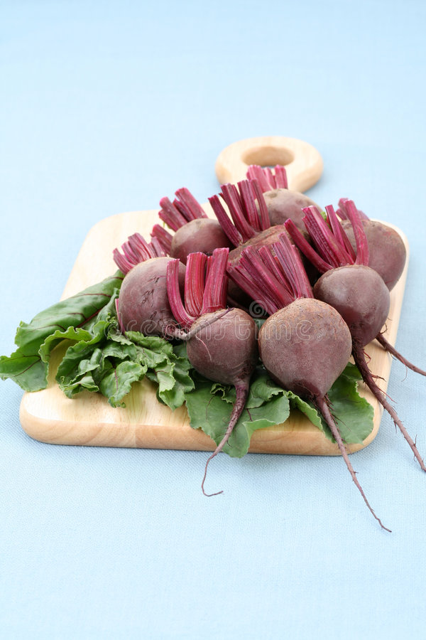 Beet roots. Some fresh and raw beet roots - ready to cook stock image