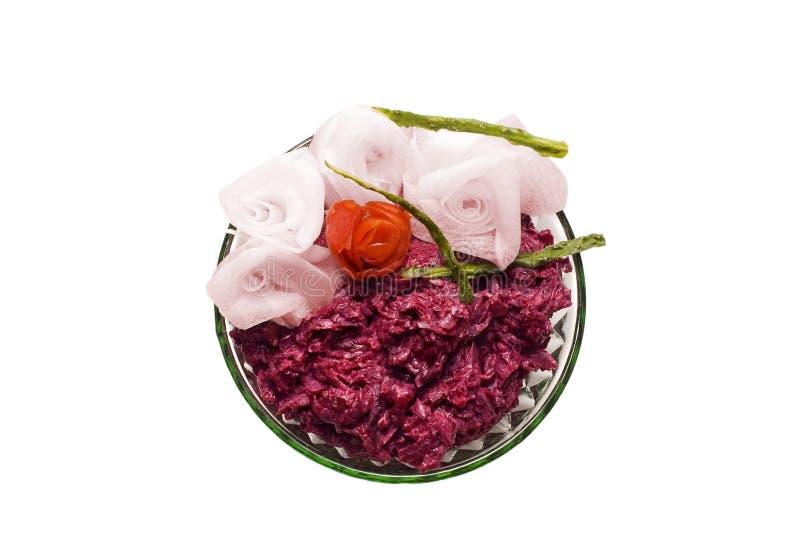 Download Beet salad stock image. Image of celebration, bright - 13731703