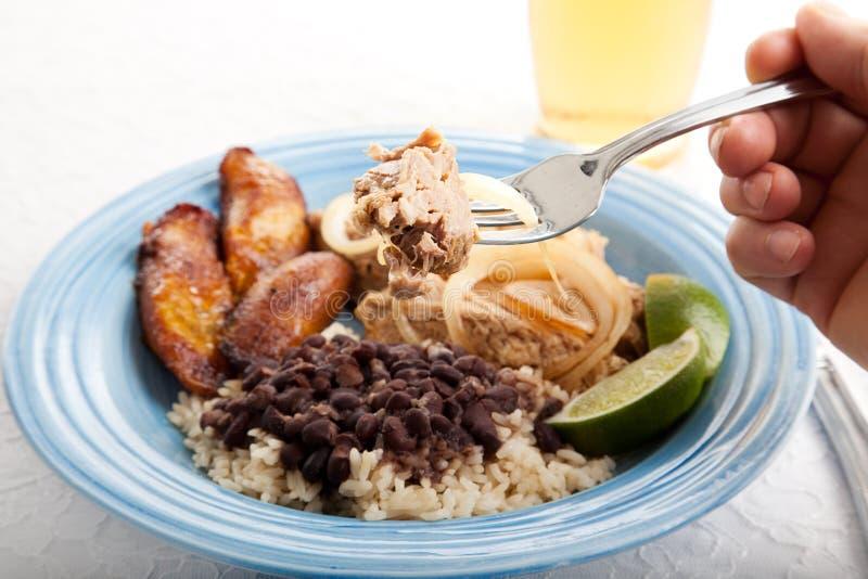 Beet van het Cubaanse Varkensvlees van het Braadstuk royalty-vrije stock foto's