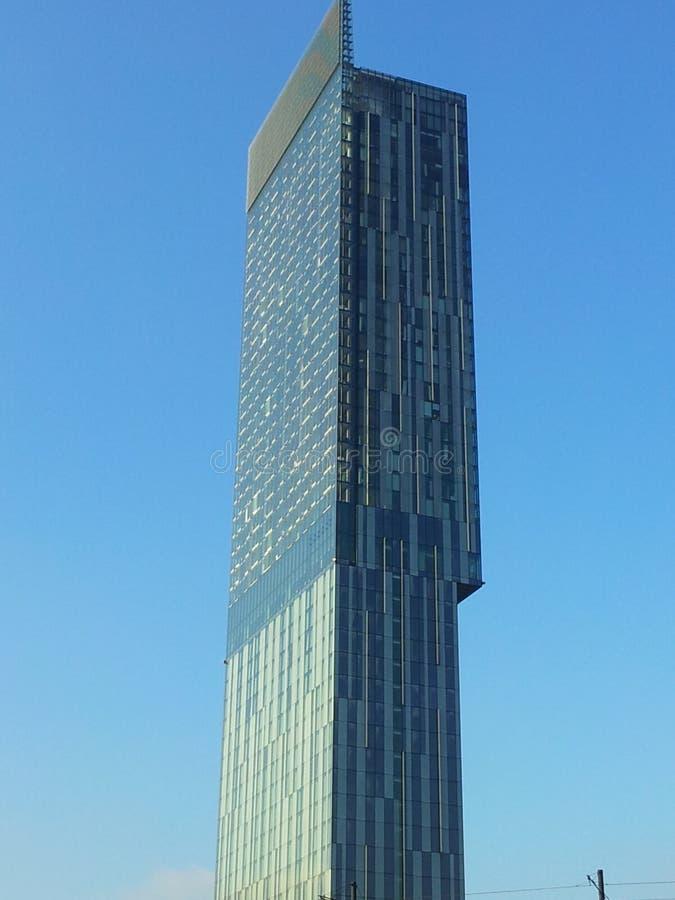 Beetham torn Hilton Hotel Manchester arkivbilder