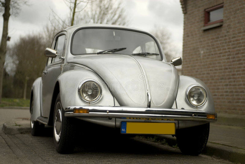 Beetle. Volkswagen, also called beetle Retro stock images