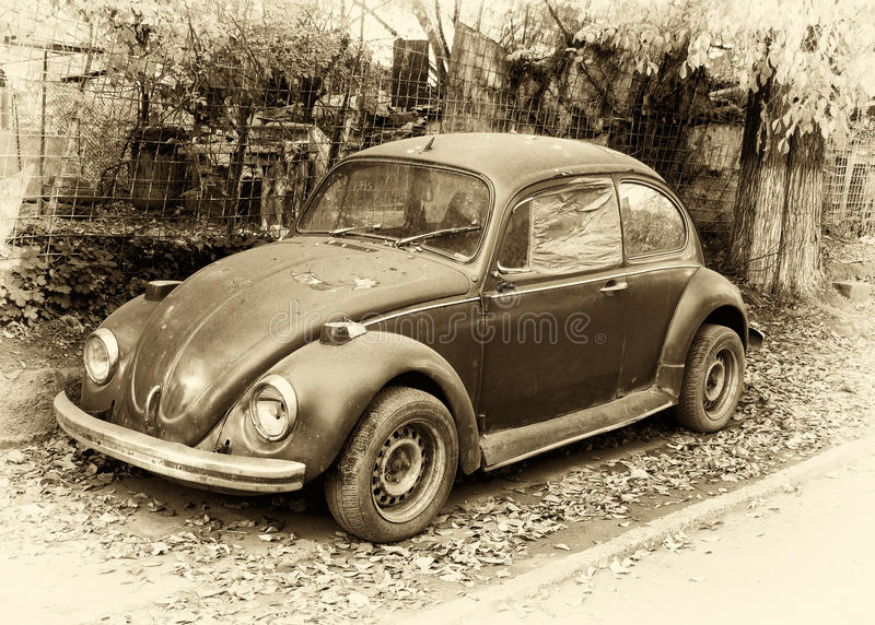 Download Beetle retro car stock image. Image of transportation - 15016477