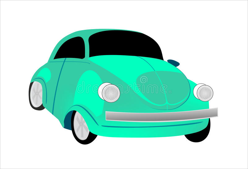 Beetle VW stock illustration