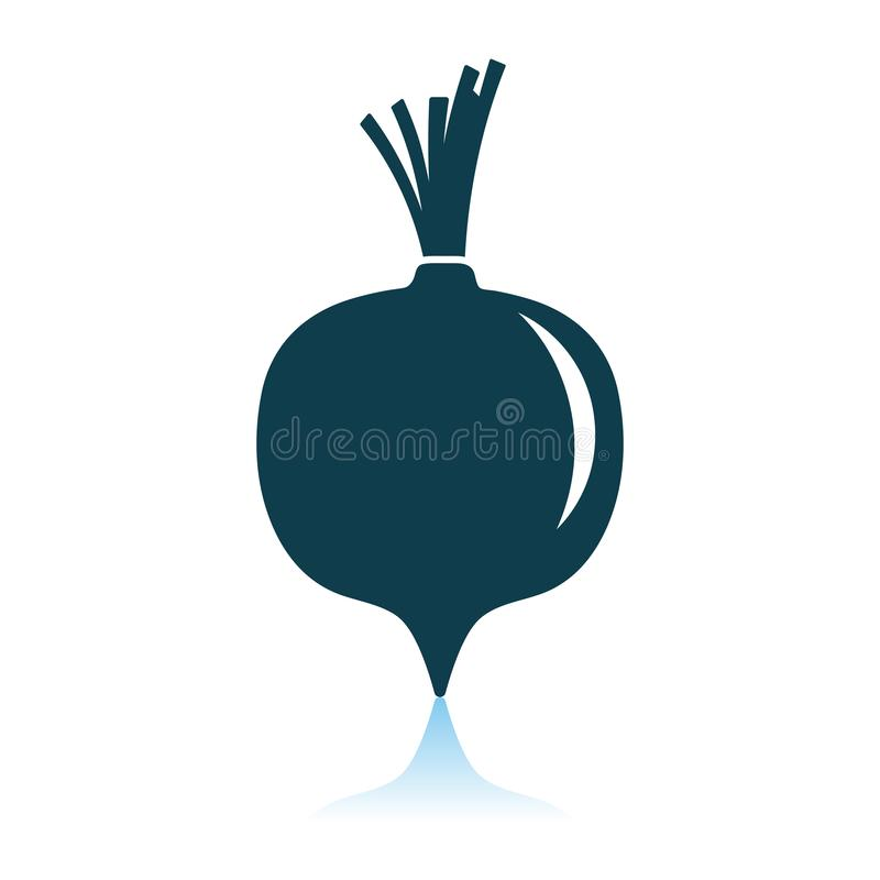 Beetroot Icon stock illustration