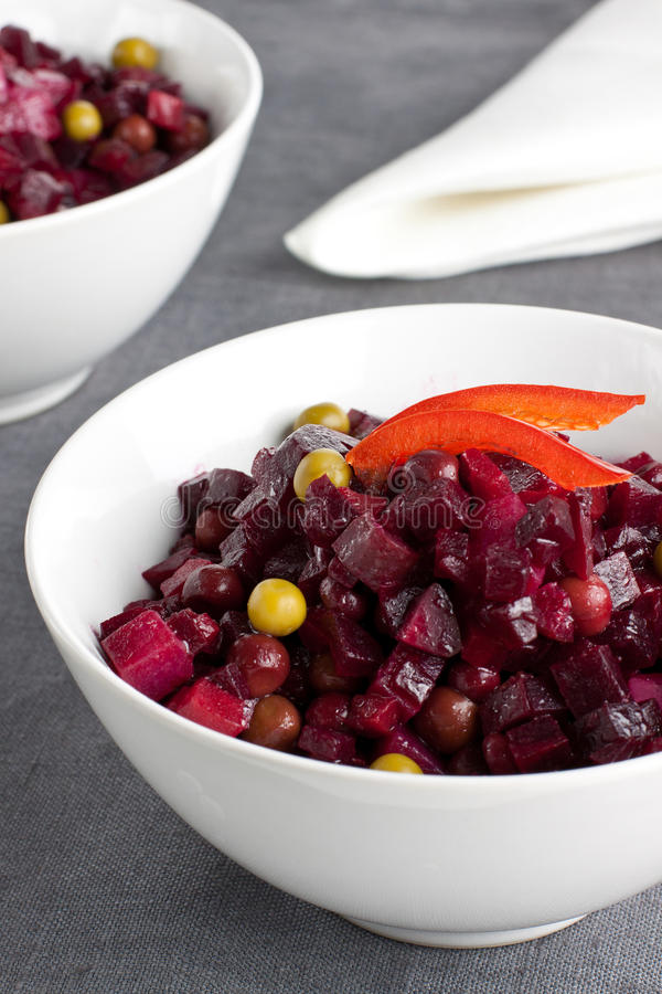 Download Beetroot salad stock image. Image of salad, healthy, traditional - 27577885