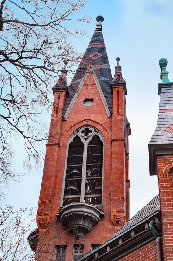 Beffroi d'église image stock