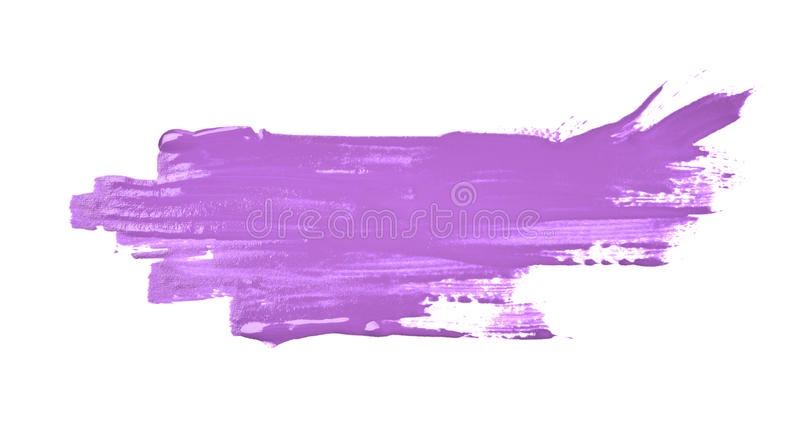 Beflecktes Spritzen der Farbe lokalisiert stockbild