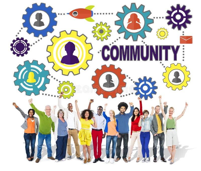 Befolkning Team Tradition Union Concep för gemenskapkultursamhälle arkivfoton
