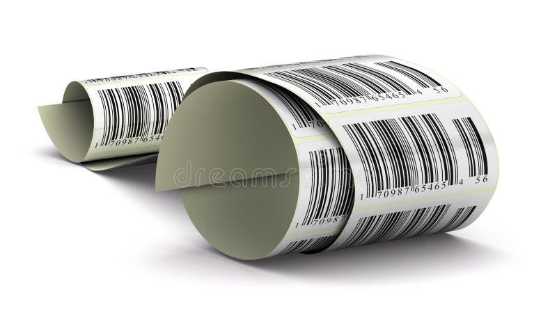befordrings- etiketter stock illustrationer