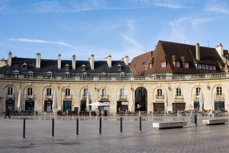 Befrielsefyrkanten i Dijon, Frankrike royaltyfria bilder