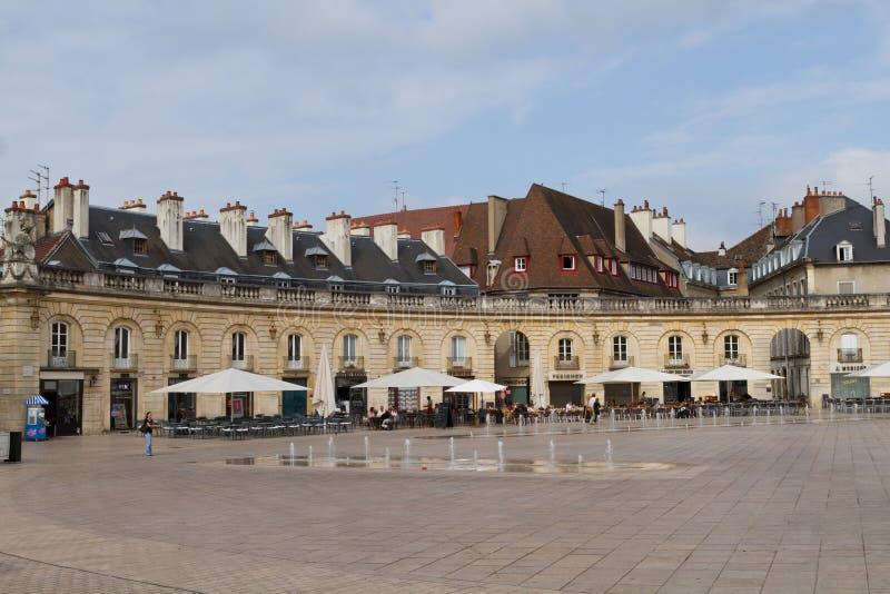Befrielsefyrkanten i Dijon, Frankrike royaltyfri foto