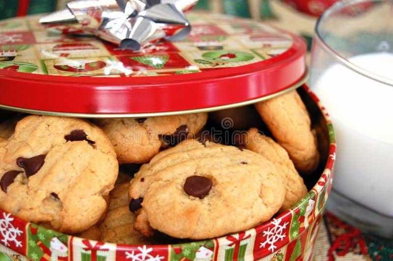 Begabte Schokolade Chip Cookies stockfoto