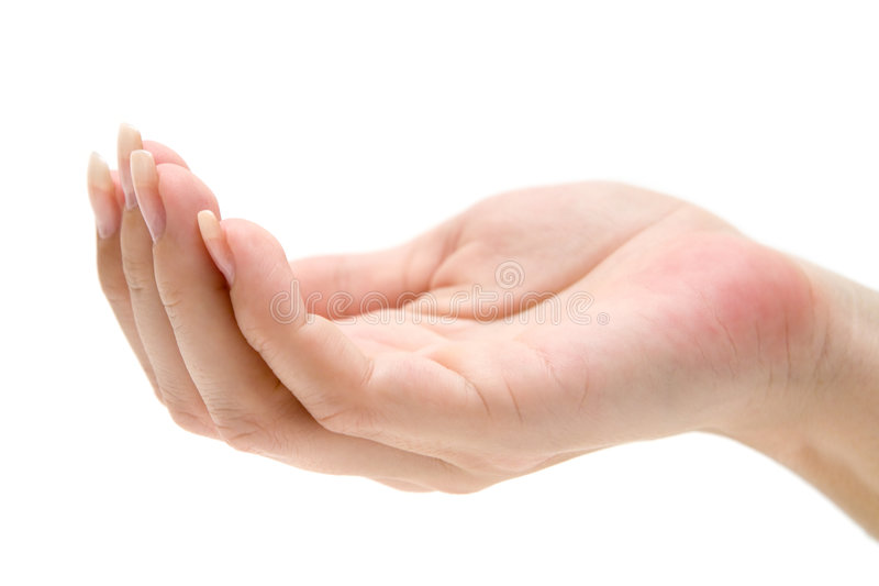 Download Begging Hand Royalty Free Stock Images - Image: 4259799