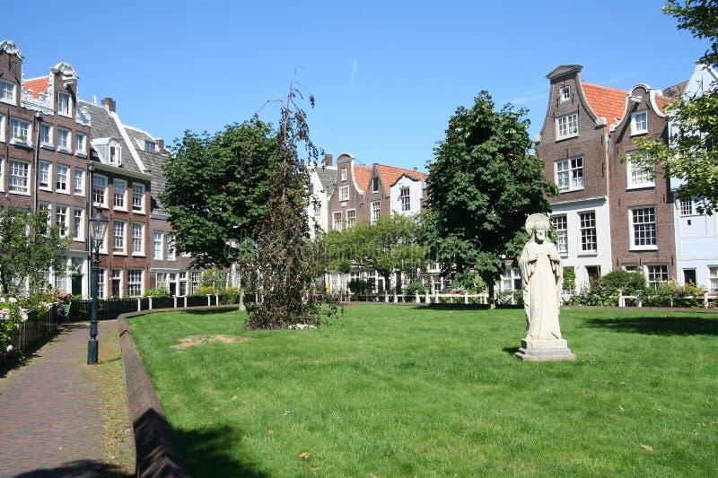 Begijnhof Amsterdam immagini stock libere da diritti