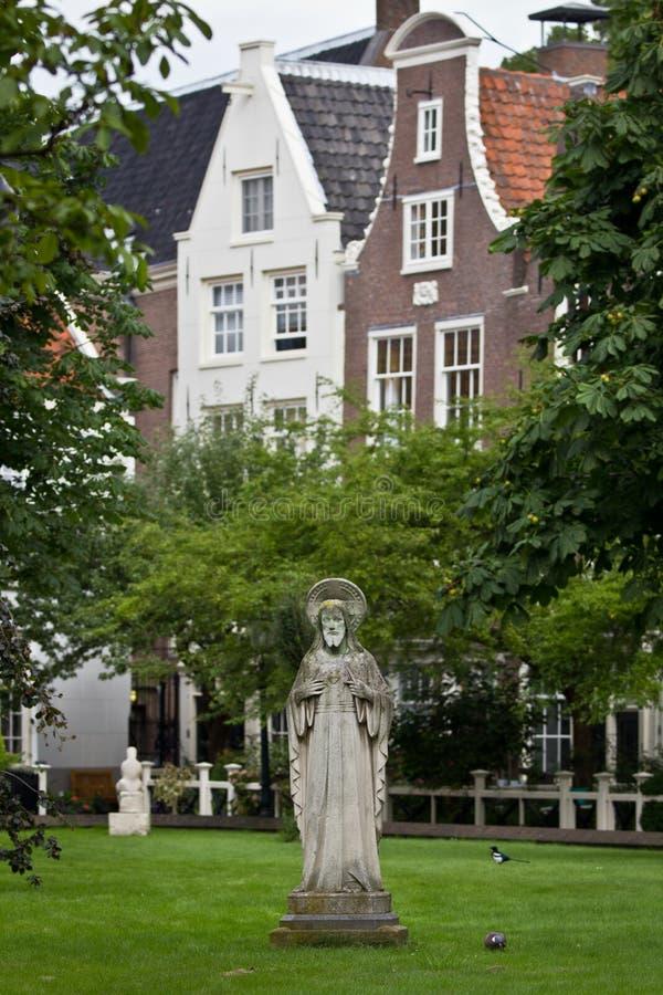 Begijnhof - Amsterdam immagine stock libera da diritti