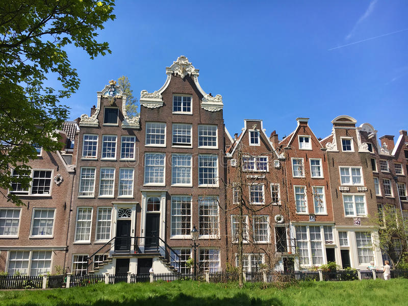 Begijnhof Amsterdam immagini stock