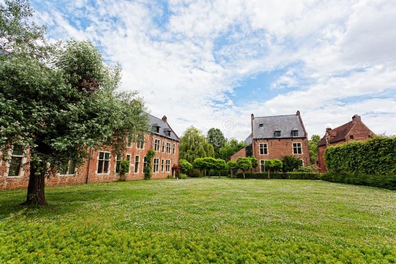 Begijnhof di Lovanio fotografia stock libera da diritti