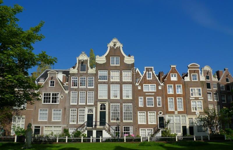 Download Begijnhof facades stock image. Image of dwellings, beguines - 11198533