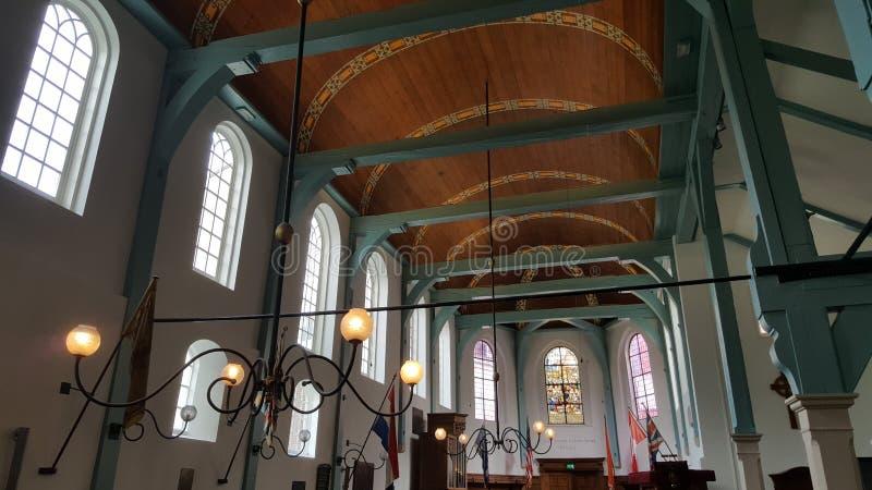 Begijnhof kapell, Amsterdam, Nederländerna royaltyfria foton