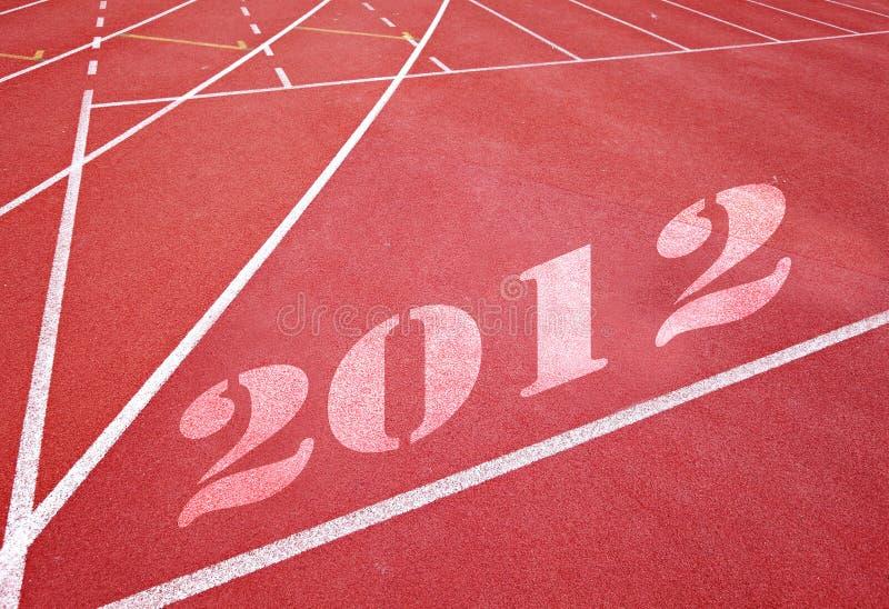 Begin 2012 royalty-vrije stock foto
