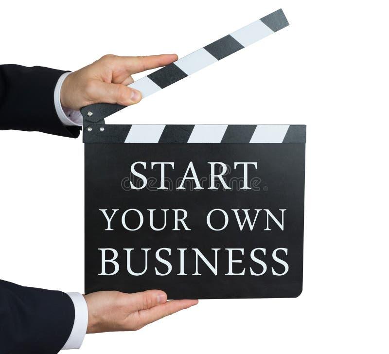 Begin uw eigen zaken royalty-vrije stock foto