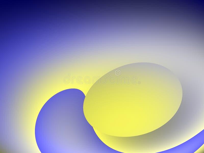 Begin van het leven een ei. royalty-vrije illustratie