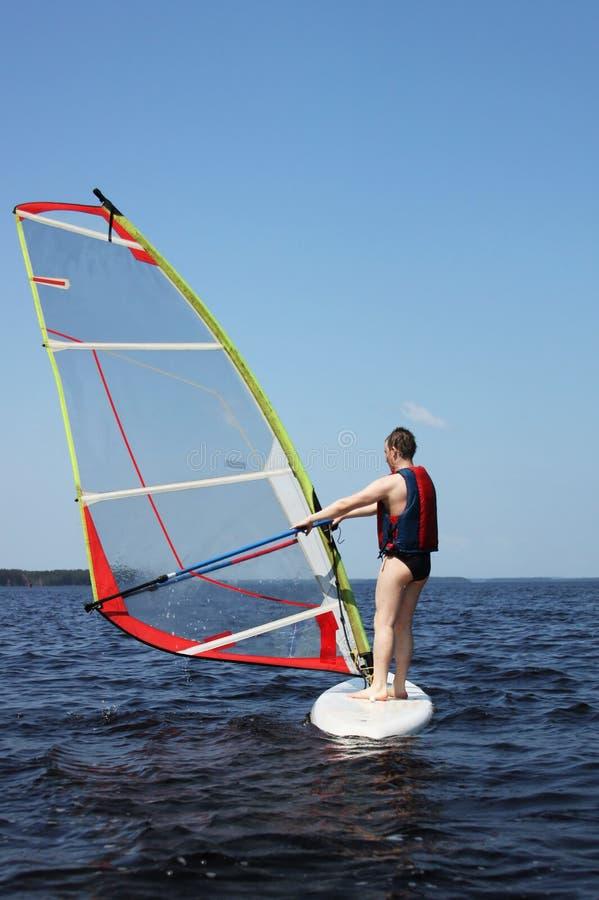 Download Beginner Windsurfer Royalty Free Stock Photos - Image: 22980968