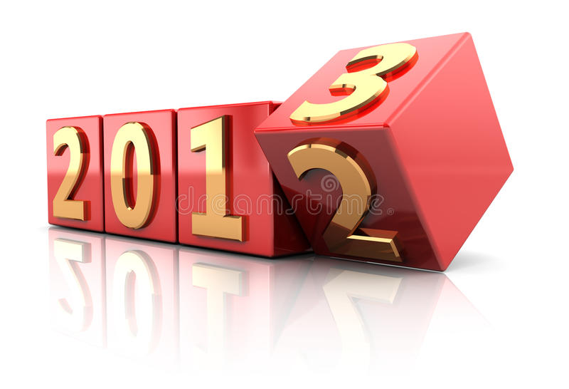 Beginning New Year Royalty Free Stock Photography