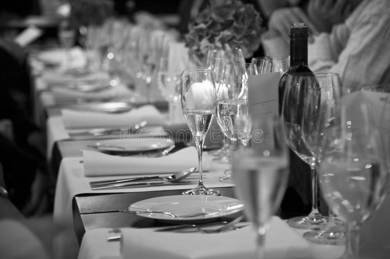Download At The Beginning Of Official Dinner Stock Image - Image: 18106293