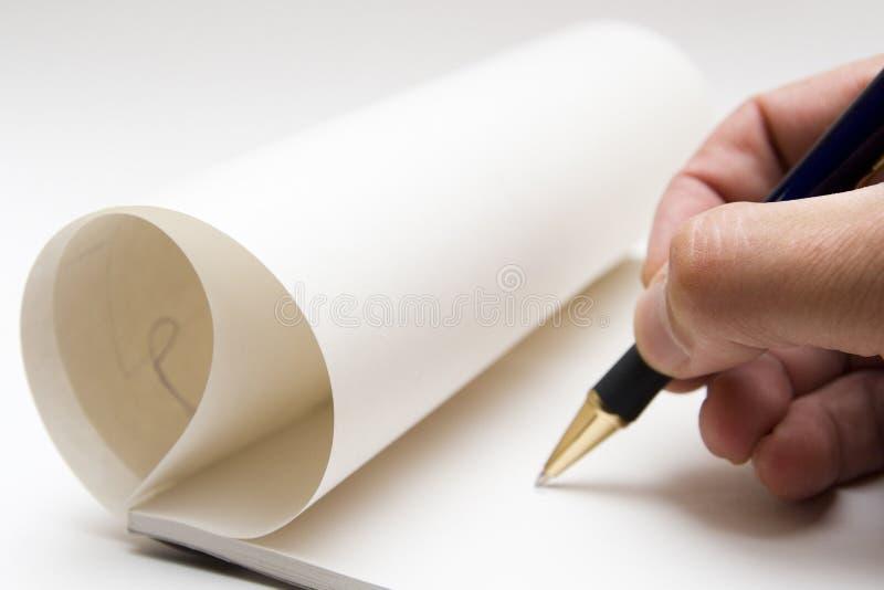 Beginning To Write Stock Images