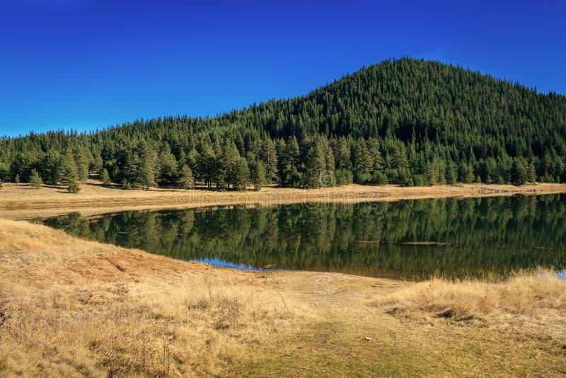 Beglika水坝,保加利亚 图库摄影